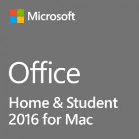 Microsoft Office 2016 Home and Student MAC - Box Pack 1 License