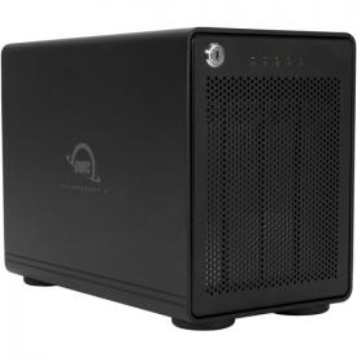 OWC ThunderBay 4 RAID Ready 4-Bay External Storage Enclosure with Dual Thunderbolt 3 Ports