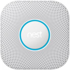 Nest Protect Wired Smoke and Carbon Monoxide Alarm (White, 2nd Generation)