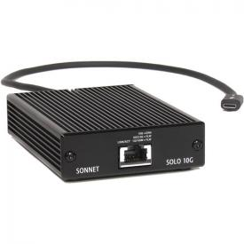 Sonnet Solo 10G Thunderbolt 2 to 10GBASE-T Ethernet Adapter