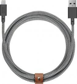 Native Union - (1.2M) Lightning USB Charging Cable - Zebra