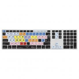 Editors Keys Media Composer Ultra Thin Keyboard Silicone Cover for Mac Wired Key