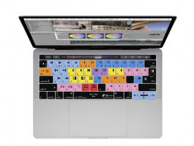 KB Avid Media Composer Keyboard Cover 13 15 MacBook Pro w/ Touch Bar