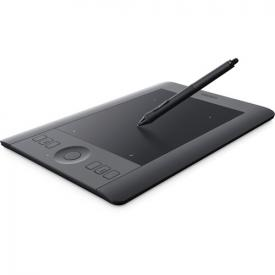 Wacom Intuos Pro Pen And Touch Tablet (Black, Small)